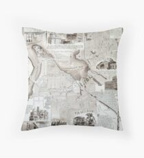 Historic Tacoma Throw Pillow