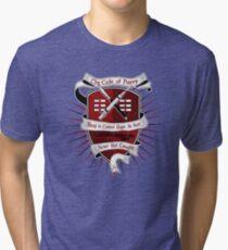 The Harry Code Dark tee (silver)  Tri-blend T-Shirt