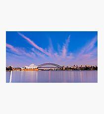 Sydney Harbour Sunrise Photographic Print