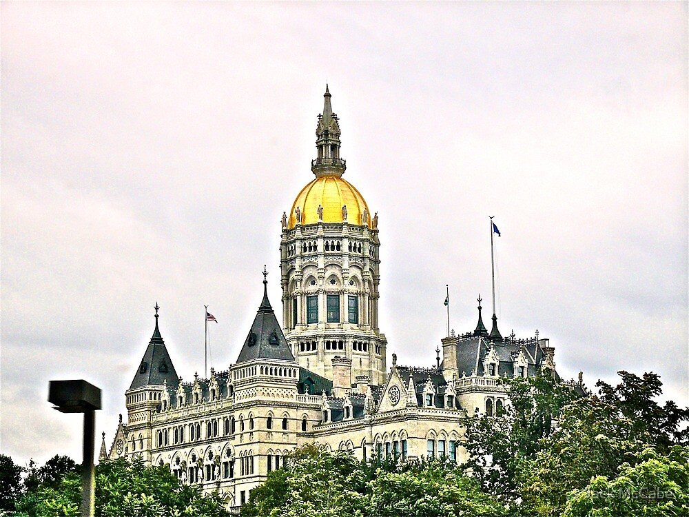 Connecticut State House  by Jack McCabe