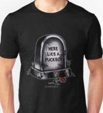 Fuckboy Flash   Tombstone Unisex T-Shirt