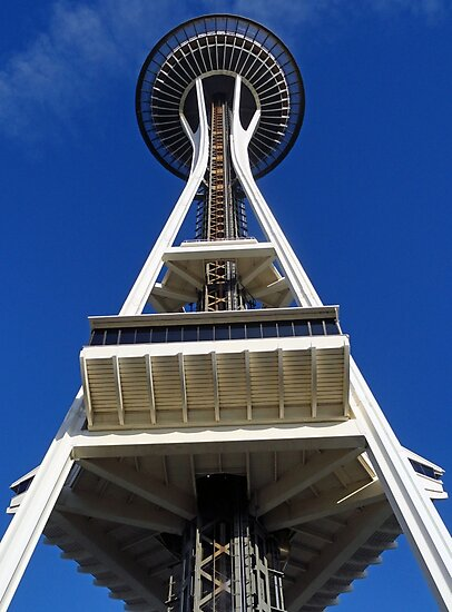 Space Needle Study 2 by Robert Meyers-Lussier