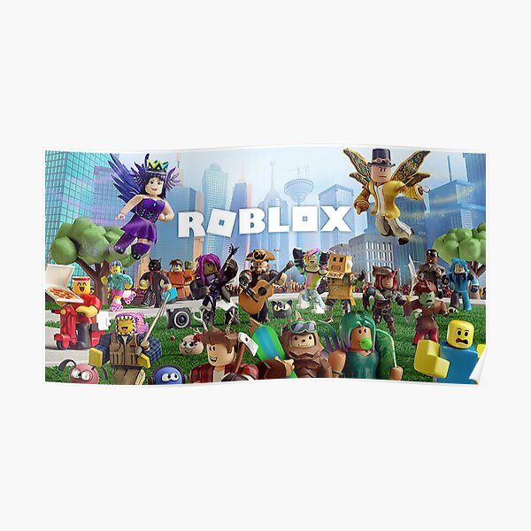 All togheter with Roblox Poster
