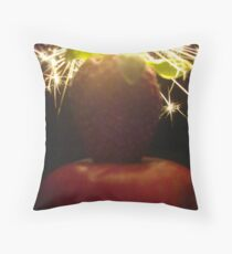 Bright Forever Tenacious Delicious! Throw Pillow