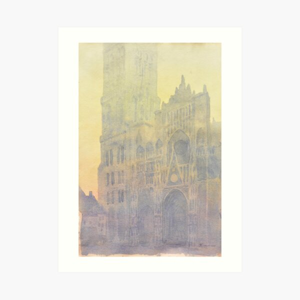 Rouen Cathedral, after Monet Art Print