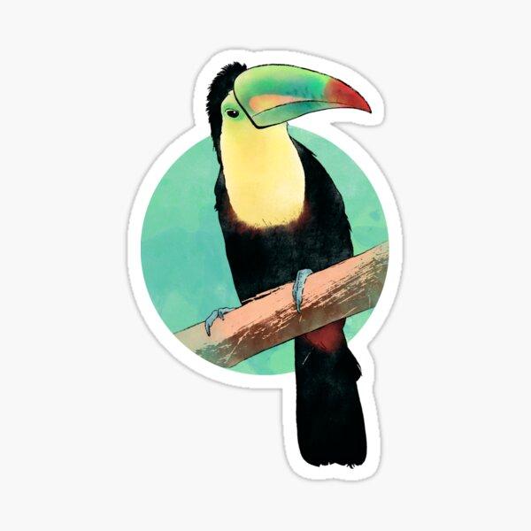 Iris beak Glossy Sticker