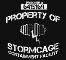 Stormcage Containment Facility White Writing