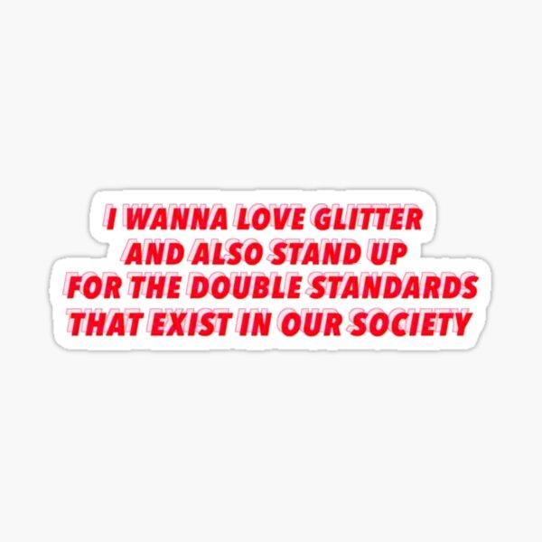 miss americana quote sticker Sticker