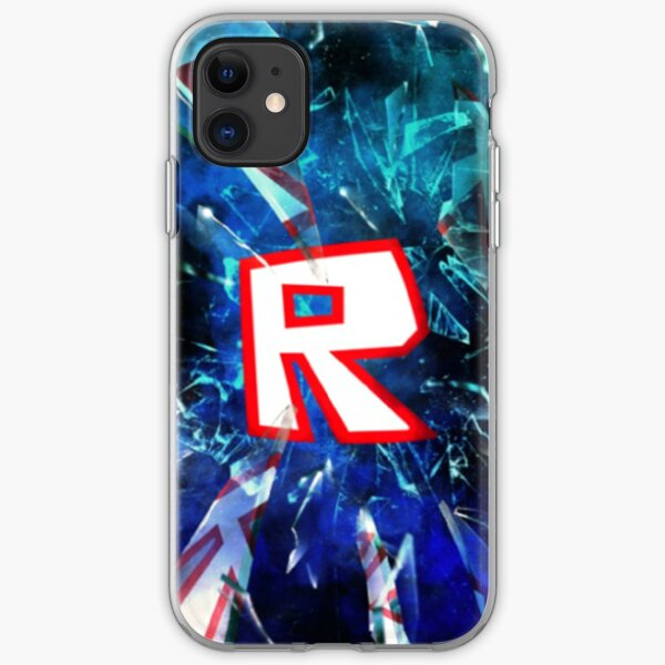 Roblox Logo Blue Iphone Case Cover By Best5trading Redbubble