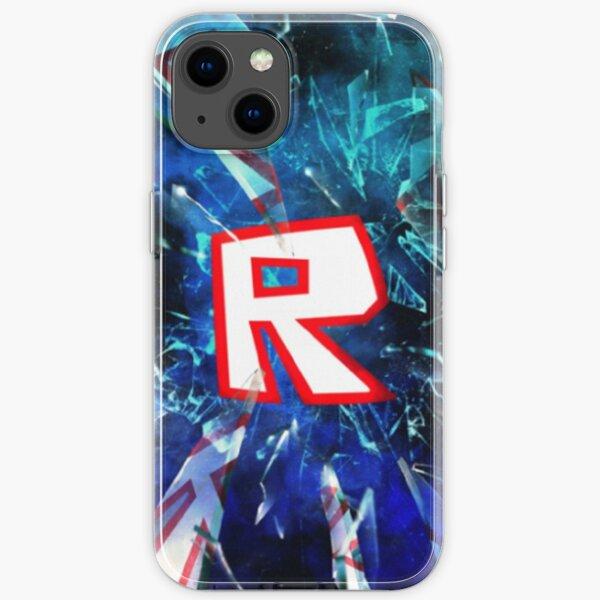 Roblox Logo Blue iPhone Soft Case