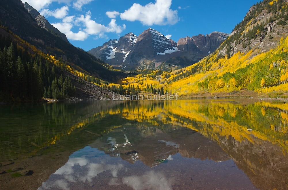 Fall in the Rockies by Luann wilslef