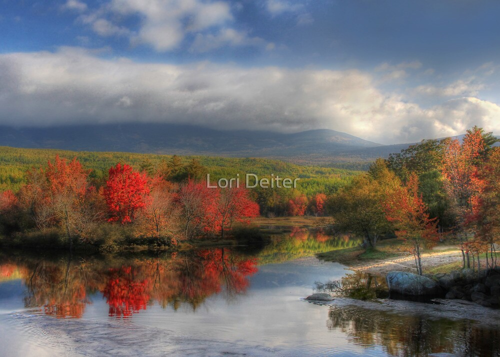 Final Destination - Mt. Katahdin by Lori Deiter