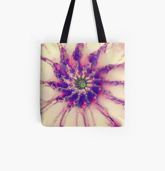 Fractalize abstraction All Over Print Tote Bag