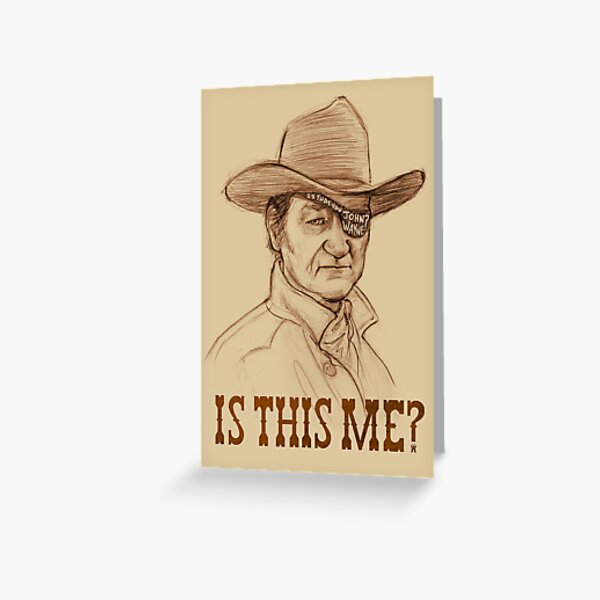 Is This Me? Greeting Card