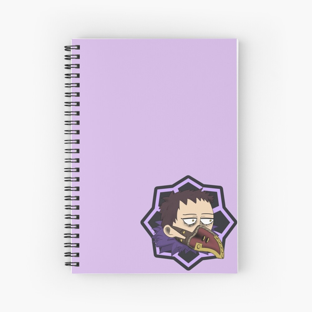 Overhaul Shie Hassaikai Spiral Notebook By Jack0falltrades Redbubble Leave this creep to us! overhaul shie hassaikai spiral notebook by jack0falltrades redbubble
