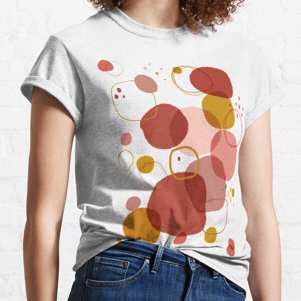 Spots and Circles. Abstract art. Digital Art Classic T-Shirt
