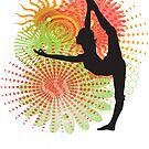 Yoga Dancer Pose by designerjenb