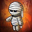 The Mummy POOTEREBELLY by Pat McNeely