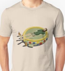 Camiseta unisex El último hombre en la tierra - Margarita Pool