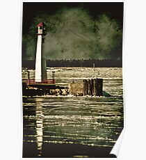Wawatam Lighthouse Poster