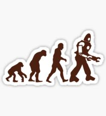 Ascent of Mechanical Man Sticker