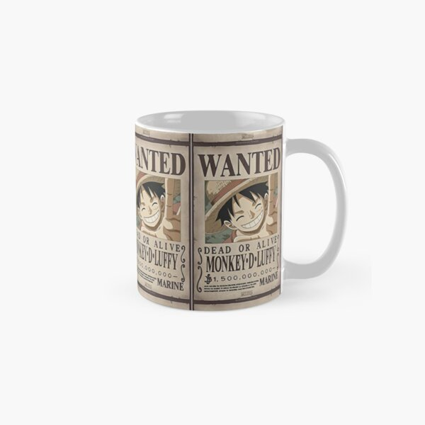 Luffy Wanted poster  Classic Mug