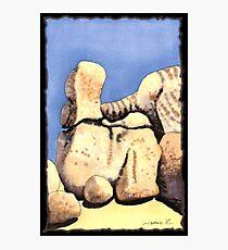 c9-Boulder Shapes Photographic Print