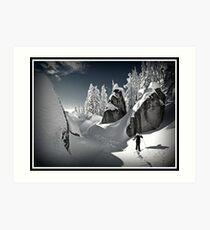 Winter in the Cascades Art Print