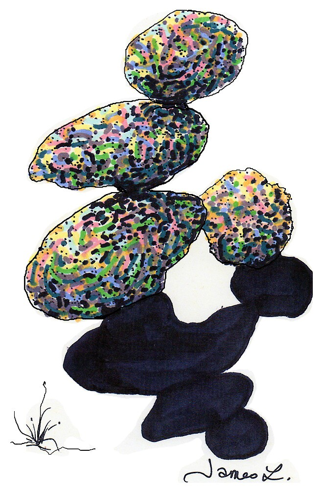 c8-Frivolously Stacked Boulders by James Lewis Hamilton