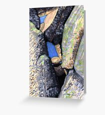 c2-The Space Between the BOULDERS Greeting Card