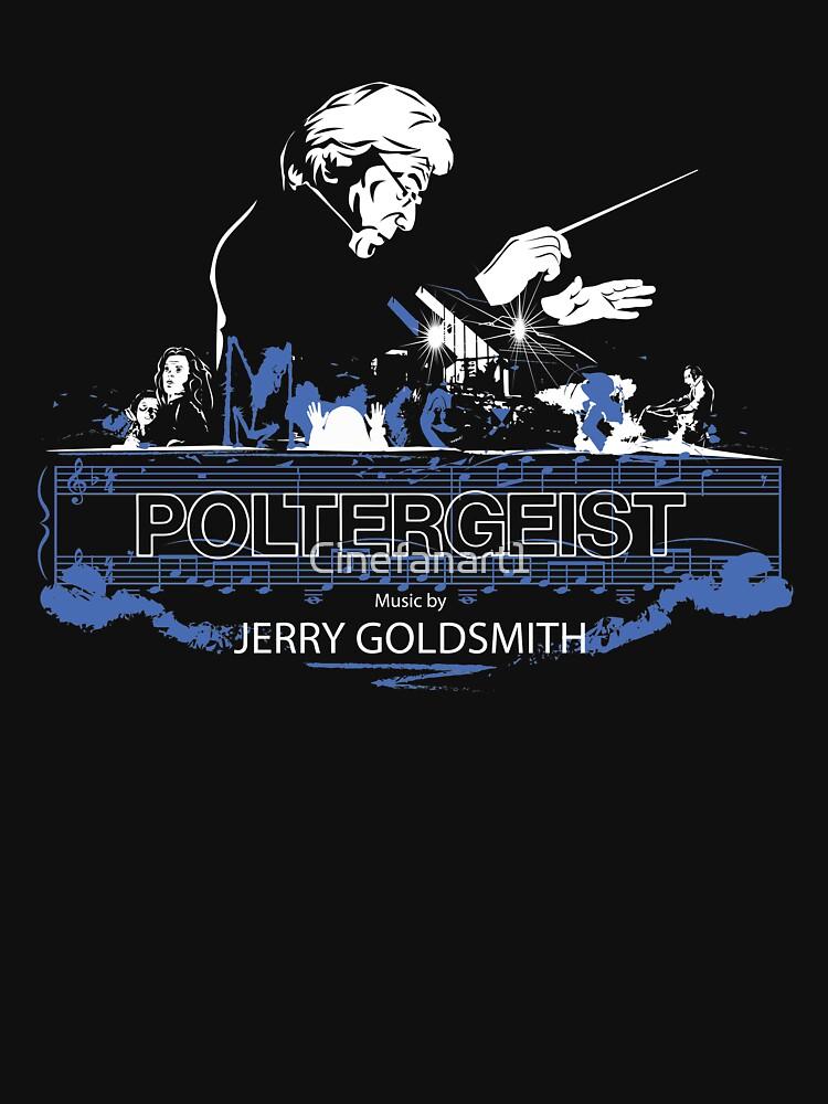 Jerry Goldsmith - Poltergeist (Series 4) - Variant 1 by Cinefanart1