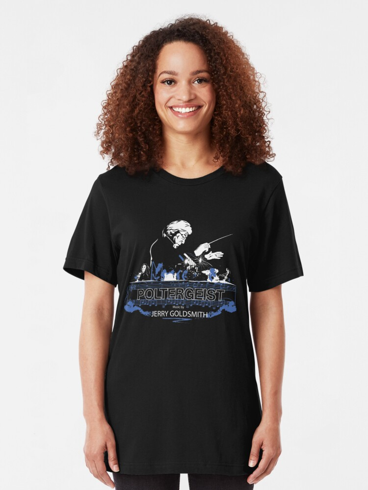 Alternate view of Jerry Goldsmith - Poltergeist (Series 4) - Variant 1 Slim Fit T-Shirt