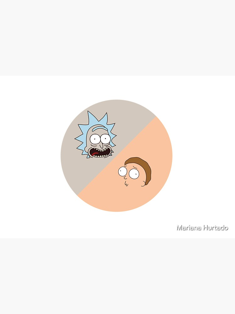 Rick and Morty pattern by marianah