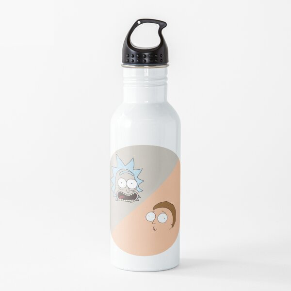 Rick and Morty pattern Water Bottle