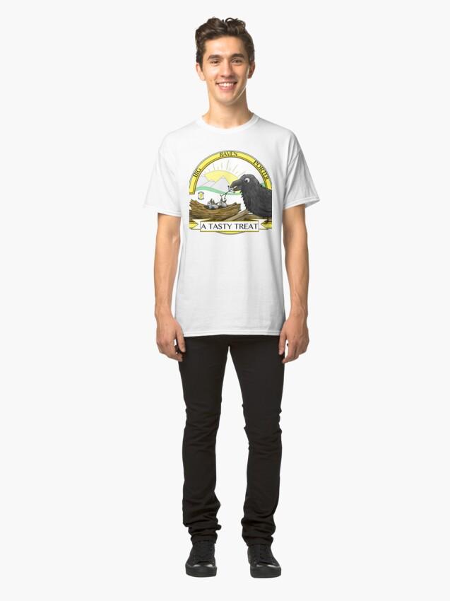 Alternate view of Big Raven Porter Classic T-Shirt