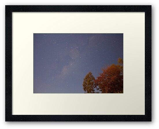 30 second exposure at night sky by Alex Colcheedas