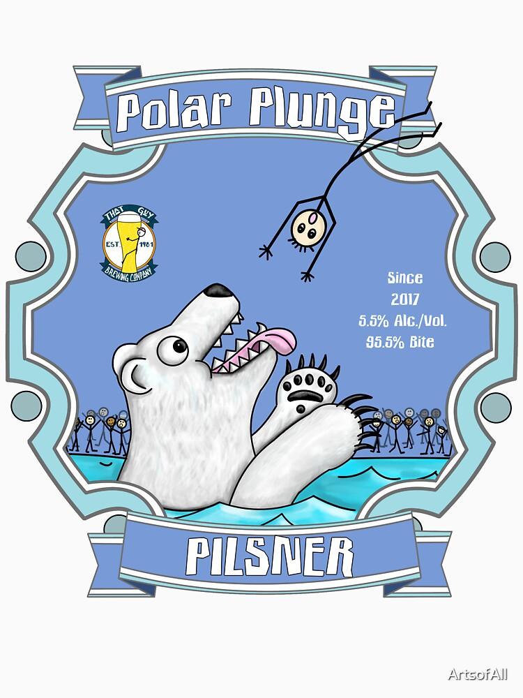 Polar Plunge Pilsner by ArtsofAll