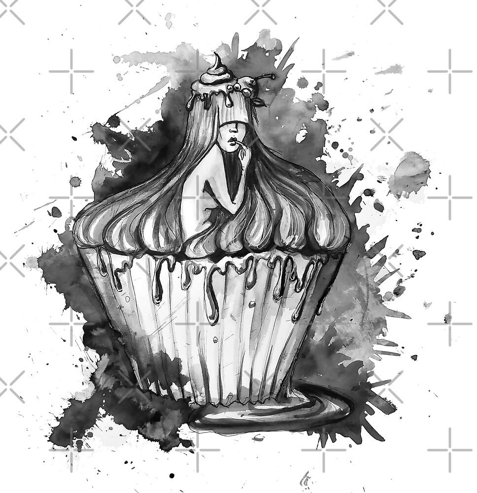 Human cupcake by AV-art