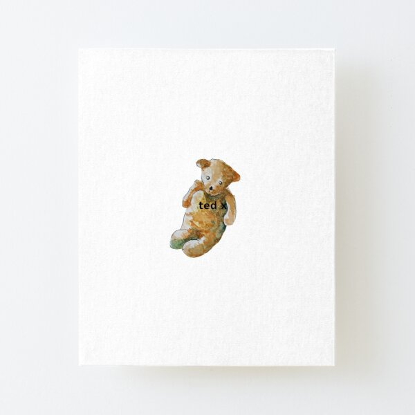 Ted x Canvas Mounted Print