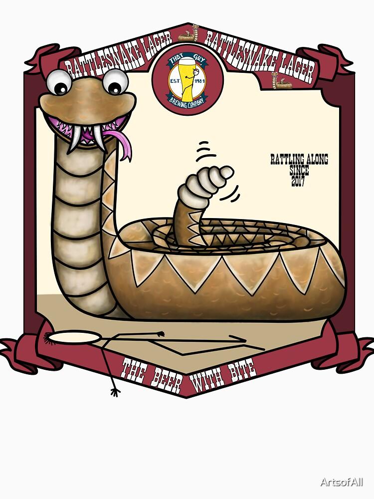 Rattlesnake Lager by ArtsofAll