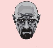 Walter White - Heisenberg - Breaking Bad- Black and White
