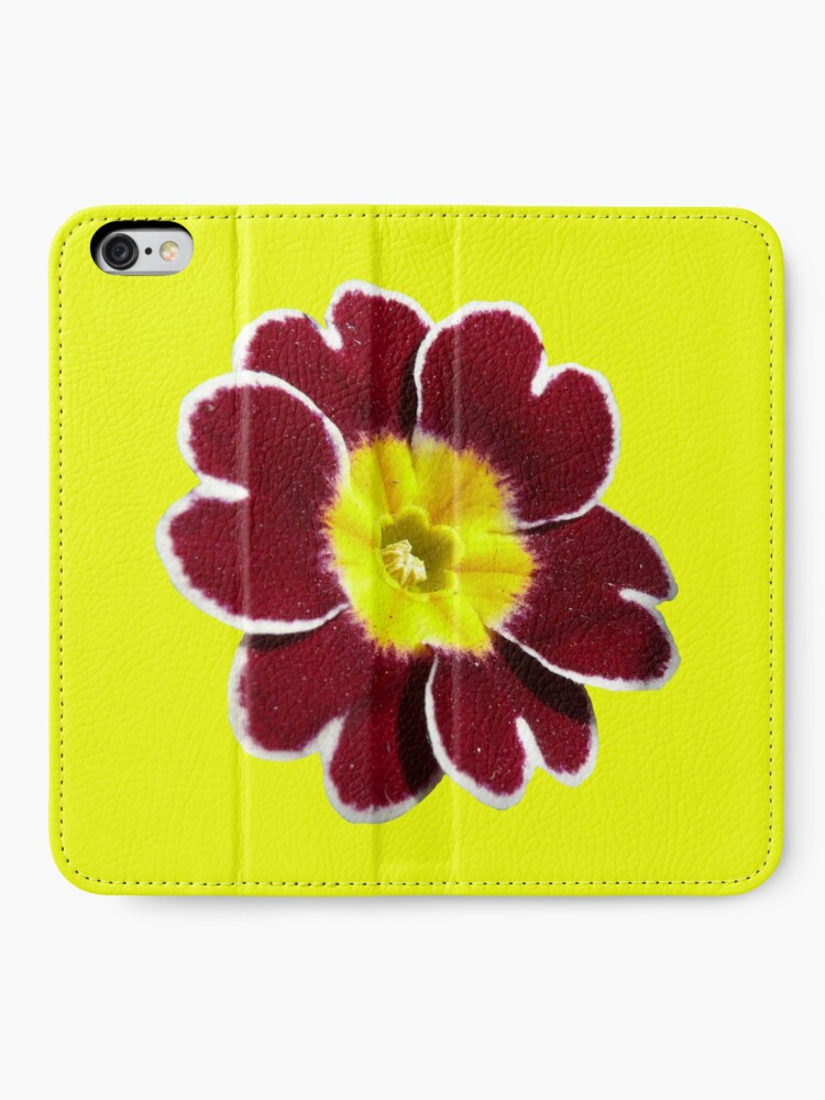 Alternate view of Gold Lace Primula - Flower Power Collection iPhone Wallet