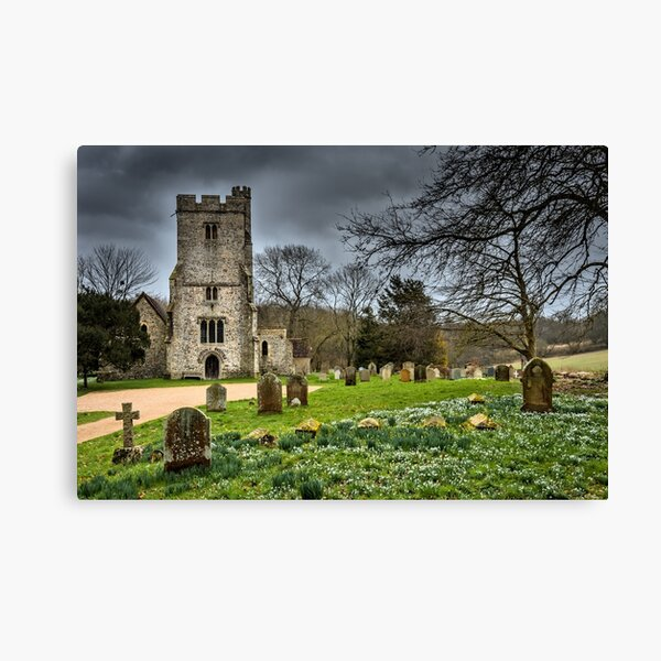Before the storm Challock Canvas Print