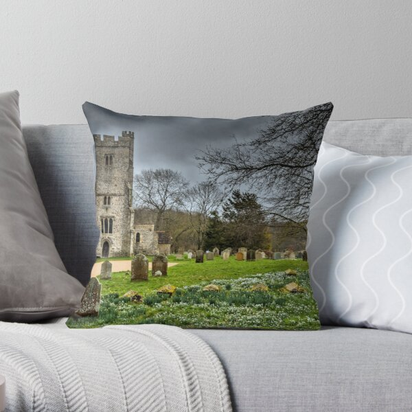 Before the storm Challock Throw Pillow
