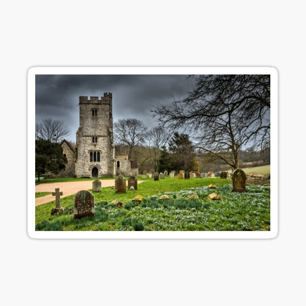 Before the storm Challock Sticker