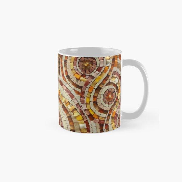 Mosaic art by Sue Kershaw Ganges Karma Classic Mug