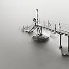 bw seaside long exposure by hkavmode