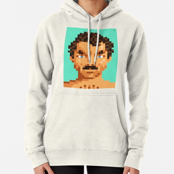 His mustache Pullover Hoodie