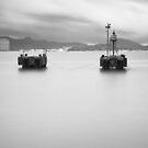 bw seaside long exposure 03 by hkavmode