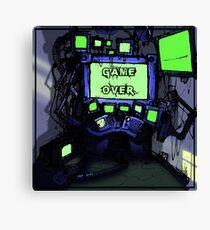 CPU Heaven Colour Canvas Print